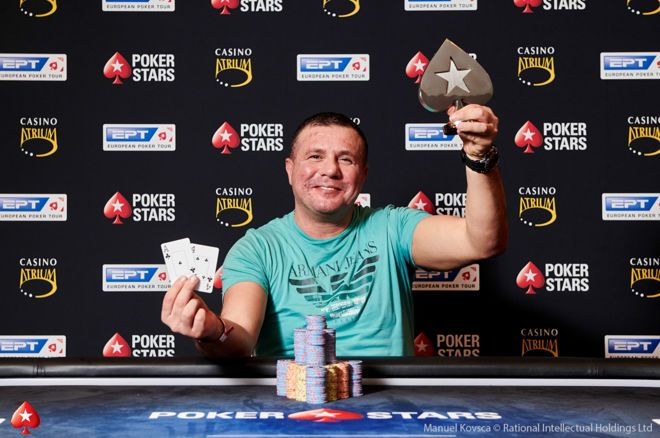 Akin Tuna wins EUR 10,300 NLHE at EPT Prague