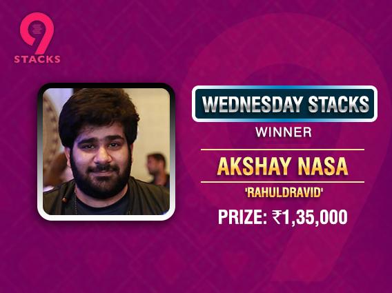Akshay Nasa ships 9Stacks' Wednesday Stacks
