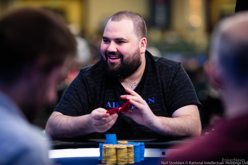 Alex Kharkov leads PCA ME Day 1A; $100K SHR Final 5 reached1