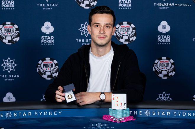 Alex Lynskey wins WSOPC Sydney Main Event