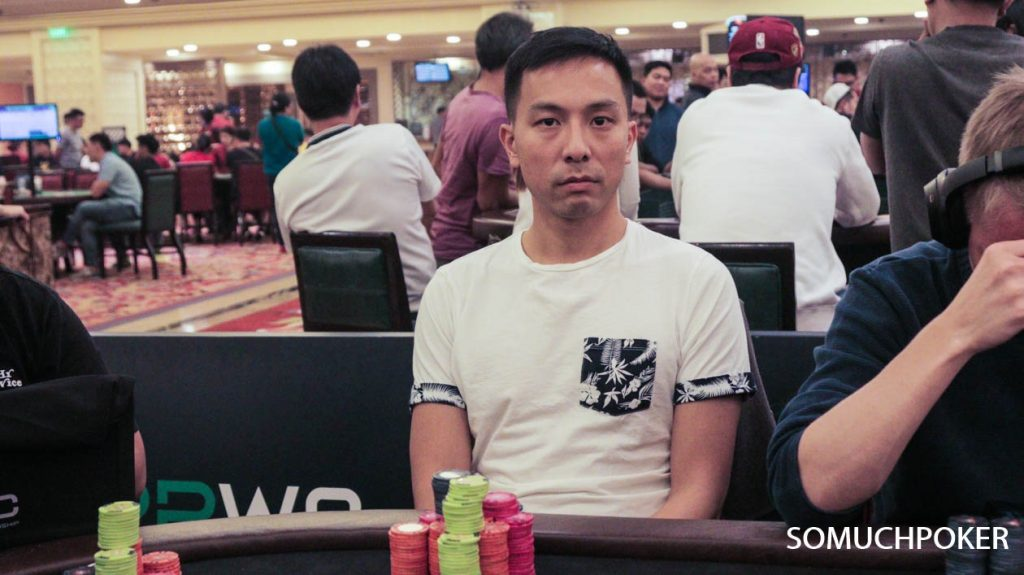 Alpheus Chan leads PPWC Main Event Day 1B