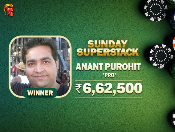 Anant Purohit wins Sunday SuperStack on Spartan