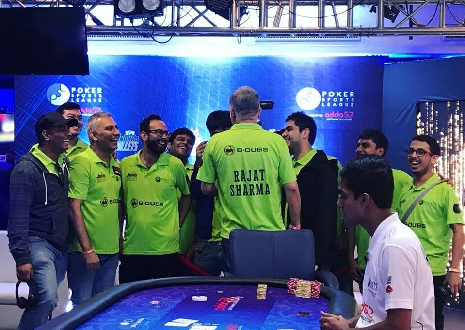 Andhra Bullets top Day 1 of Poker Sports League