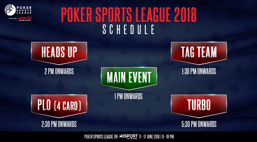 Andhra Bullets top Day 1 of Poker Sports League1
