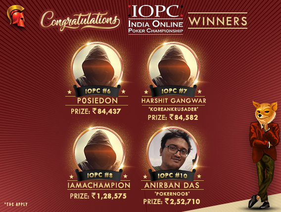 Anirban Das among title winners on IOPC Day 2