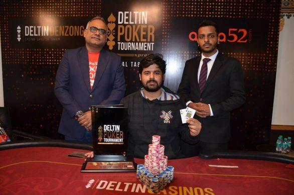 Ankit Jajodia wins 2nd edition DPTXpress Main Event