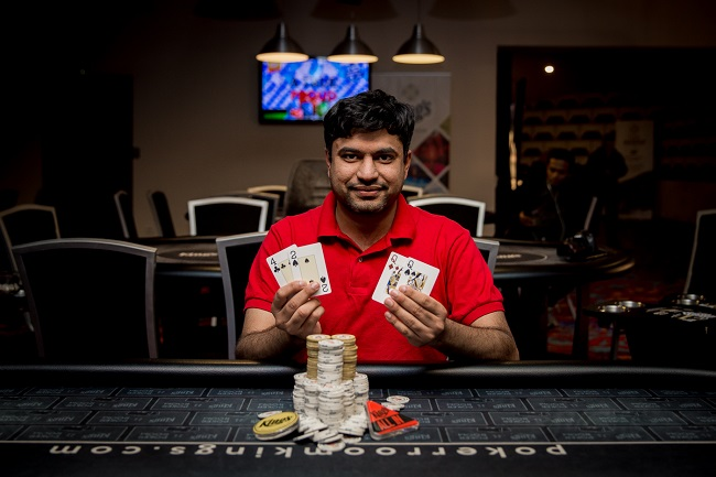 Ankit Kapoor continues good run; wins TIPS PLO Event