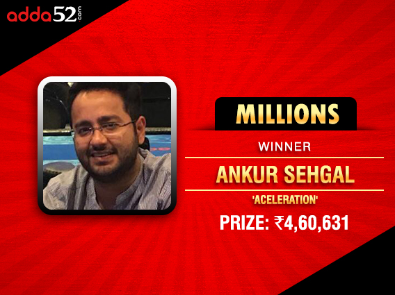 Ankur Sehgal ships Adda52 Millions title after deal