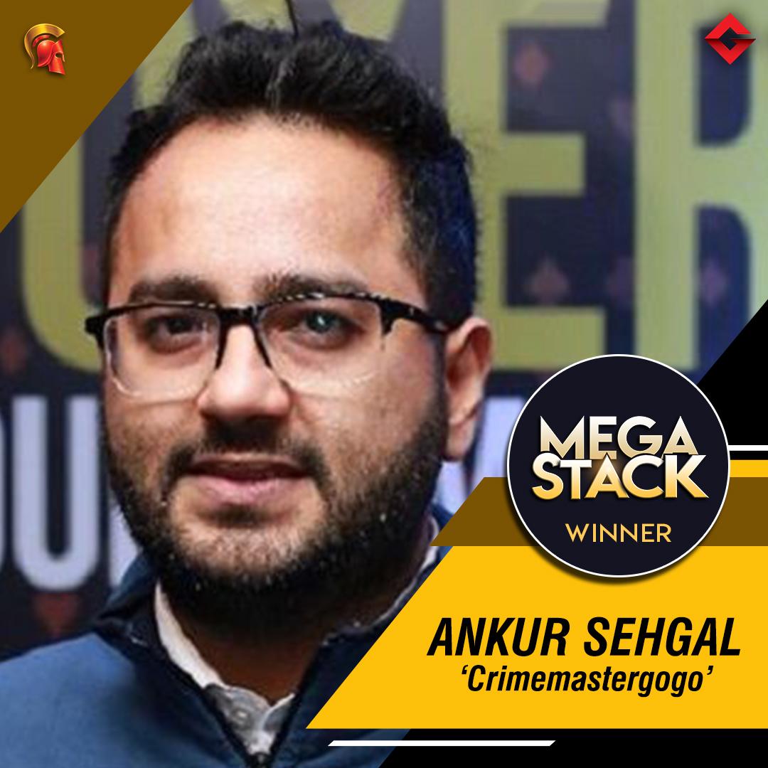 Ankur Sehgal takes down Mega Stack on Spartan