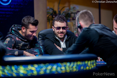 Anthony Zinno leads Day 5 of the WSOPE Main Event