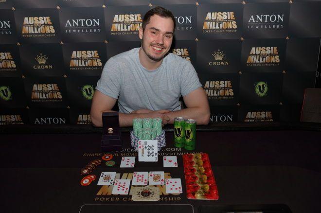 Anton Morgenstern wins Aussie Millions $25k PLO