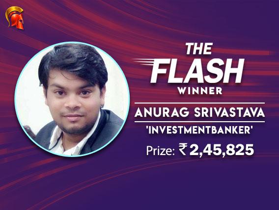 Anurag Srivastava bags Spartan's Flash after HU deal