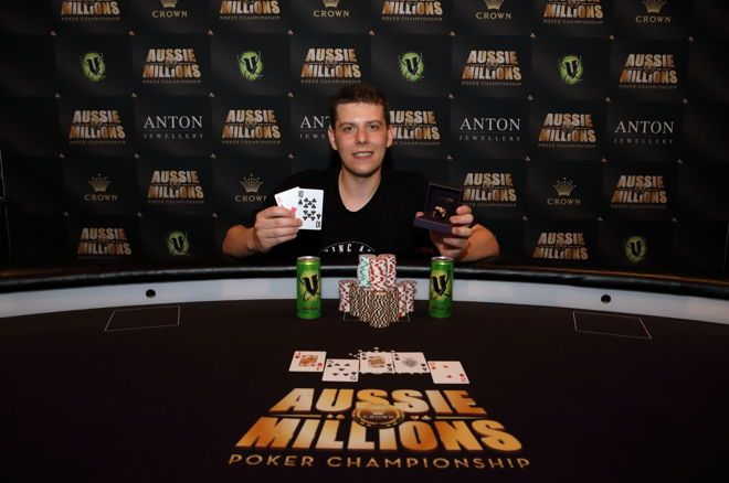 Ari Engel bags 2nd Aussie Millions Ring; wins Mix-Max event