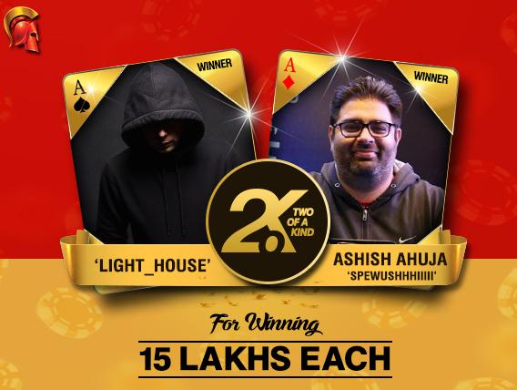 Ashish Ahuja and 'light_house' are December 2oK winners
