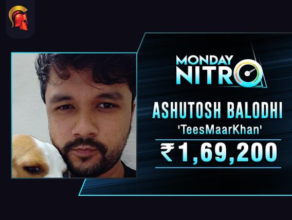 Ashutosh Balodhi stars in Spartan's Monday Nitro