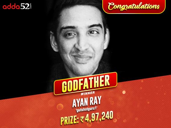 Ayan Ray takes down Godfather X on Adda52