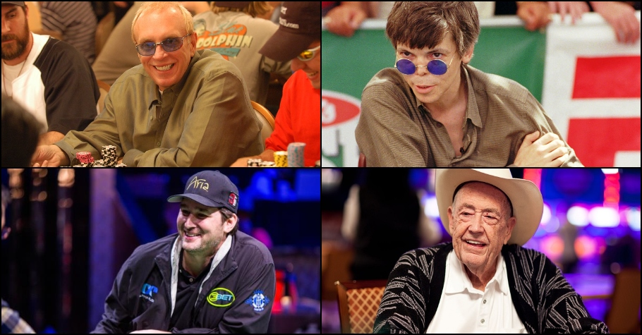 Four Legendary Poker Players of All Time