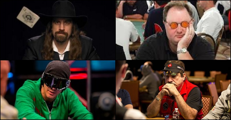 Poker pros and their signature accessories!