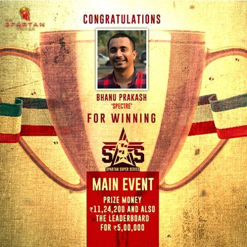 Bhanu Prakash SSS Winner