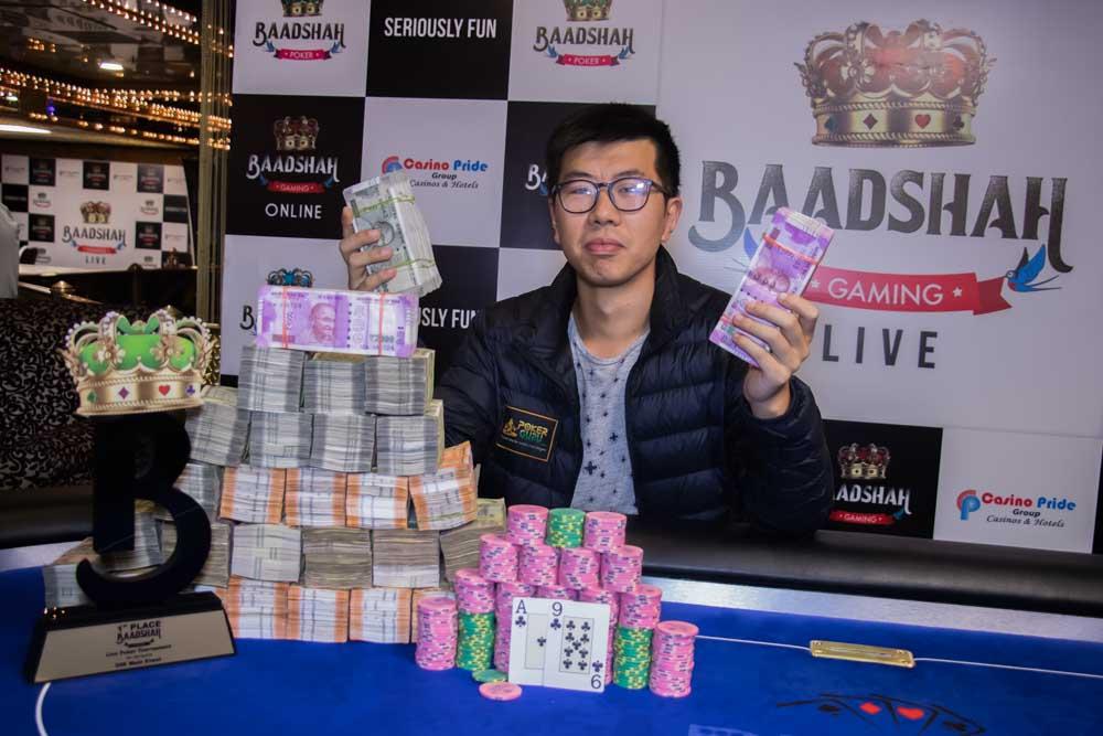 Bobby Zhang Wins Baadshah Gaming Live Main Event