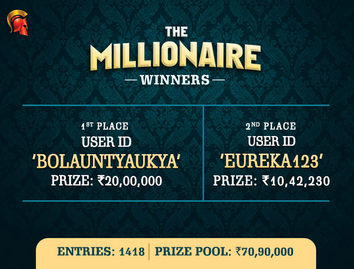 'BolAuntyAuKya' is March Millionaire on Spartan