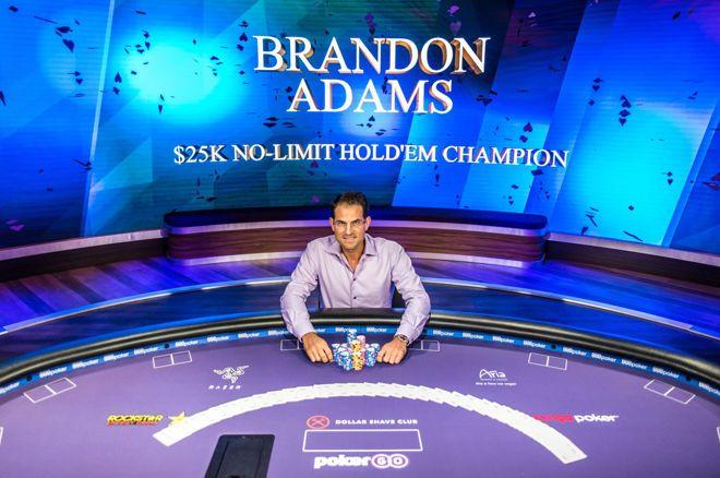 Brandon Adams wins Poker Masters Event #2