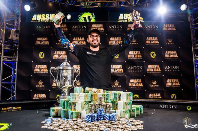 Bryn Kenney is the 2019 Aussie Millions ME Champion