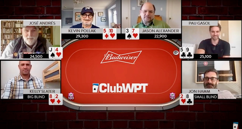 WPT and Budweiser to host King's Celebrity Poker Challenge!
