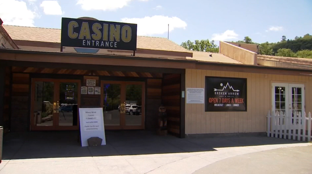 California casinon makes ends meet by selling food, gas.