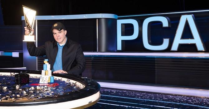 Cary Katz PCA Super High Roller Winner