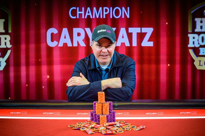 Cary Katz wins Super High Roller Bowl London