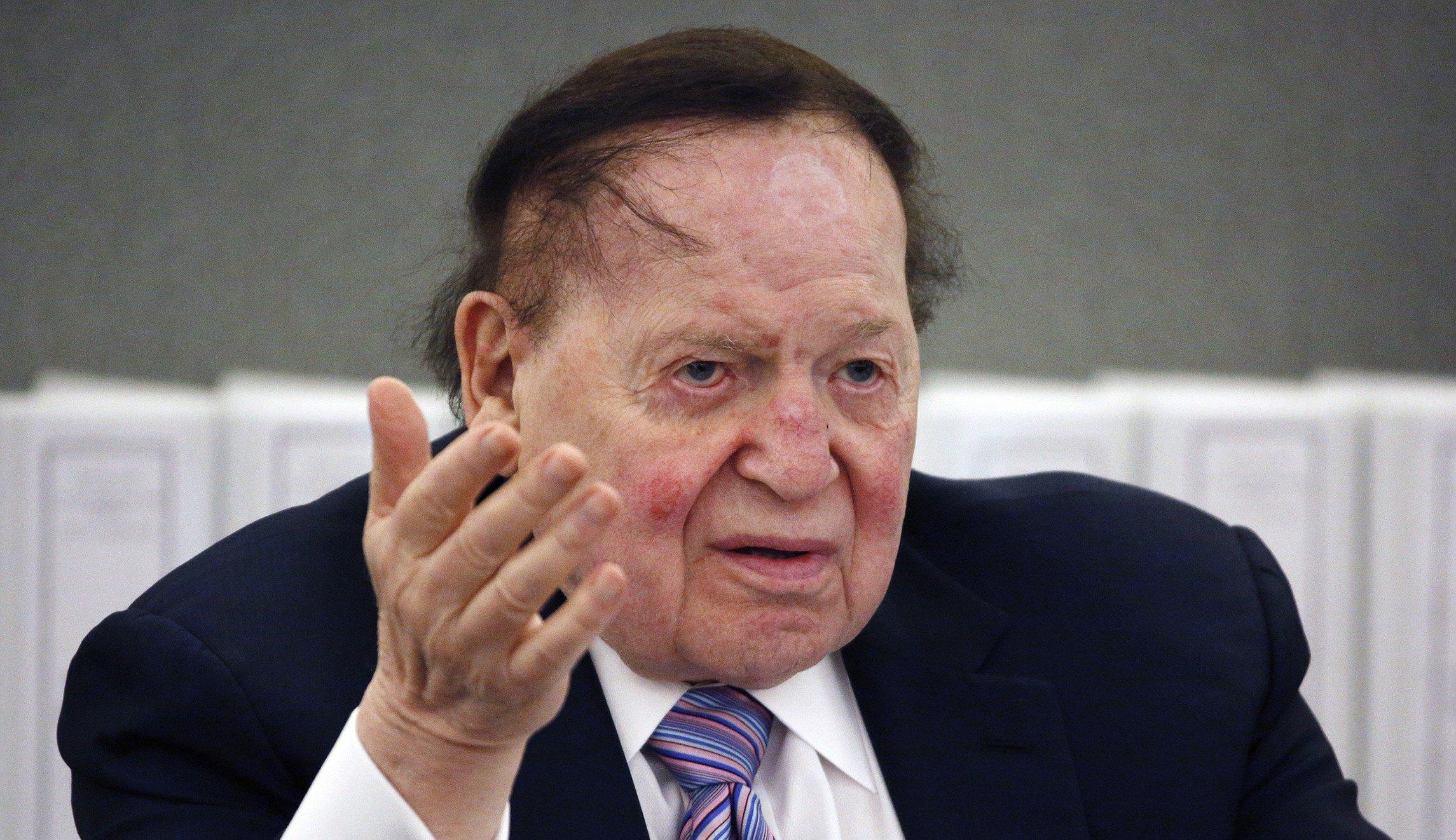 Casino mogul Sheldon Adelson undergoes cancer treatment