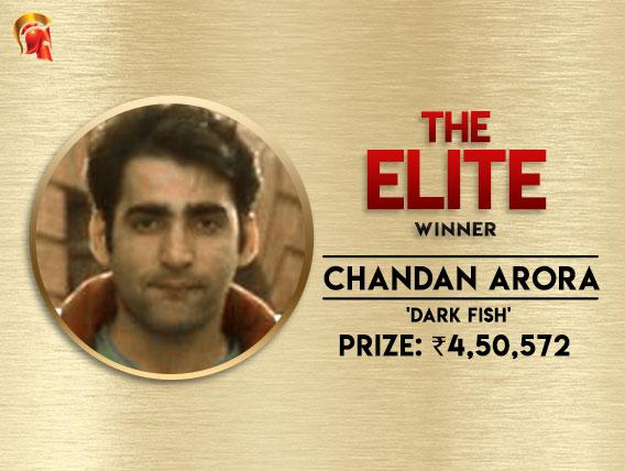 Chandan Arora walks away with Elite victory on Spartan