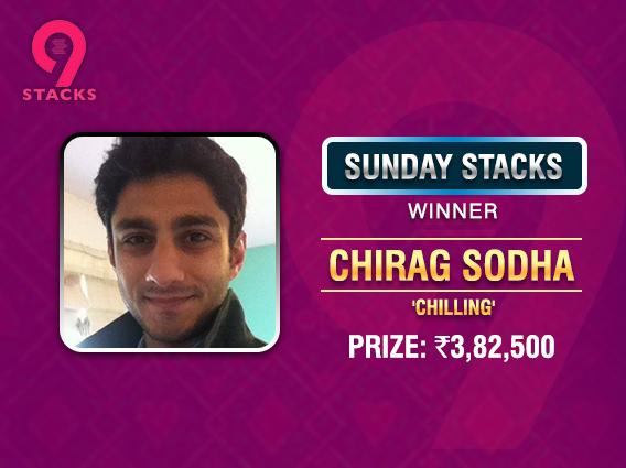 Chirag Sodha stacks up big time in Sunday Stacks