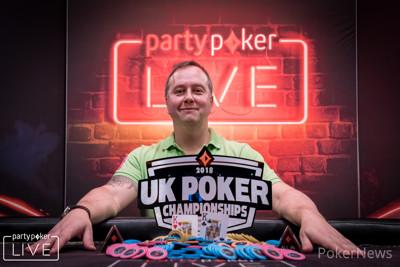 Chris Brice wins UK Poker Championships Main Event