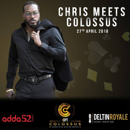 Chris Gayle to Promote DPT Colossus Tournament