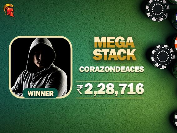 'CorazonDeAces' takes down Mega Stack on Spartan