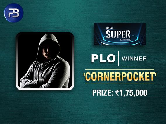 'CornerPocket' ships BSS PLO tournament on PokerBaazi