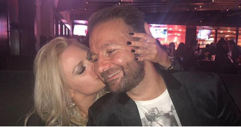 Daniel Negreanu proposes to his long-time partner