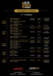 Deltin Poker Tournament announced 7-11 February_2