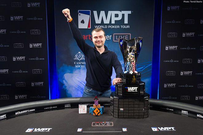 Denys Shafikov wins first ever WPT Russia Main Event