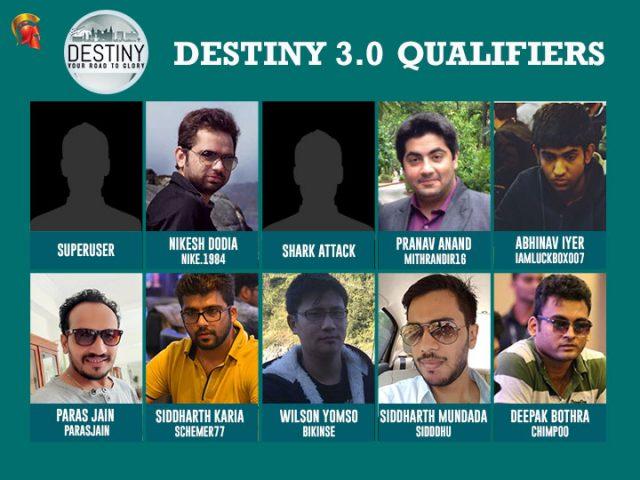 Destiny 3.0 Qualifiers