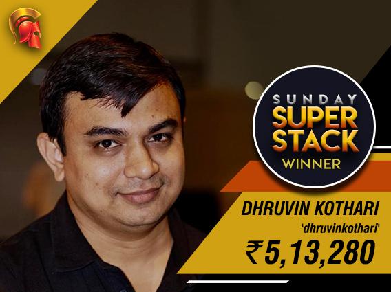 Dhruvin Kothari cruises to Sunday SuperStack victory