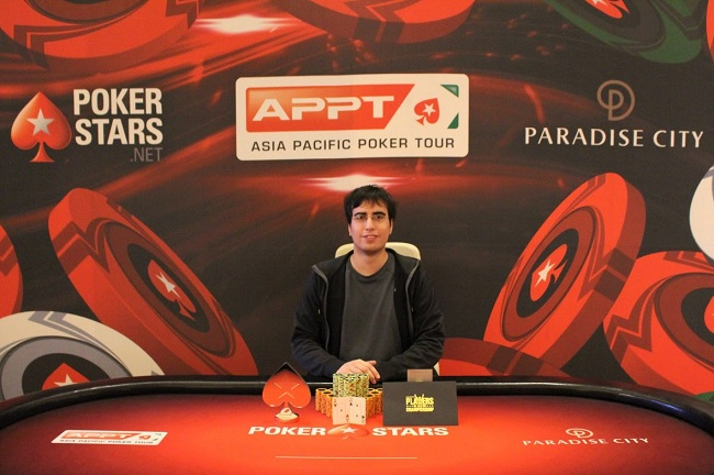 Diego Palma Wins APPT Korea Kickoff Event