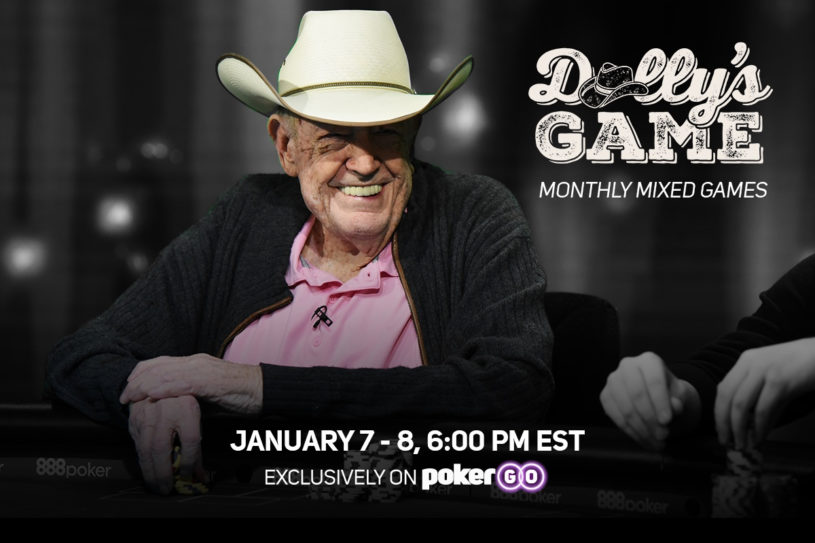 Dolly's Game – a Mixed-Game Show starring Doyle Brunson