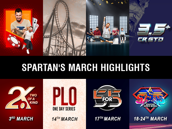 Exciting events on Spartans calendar in March
