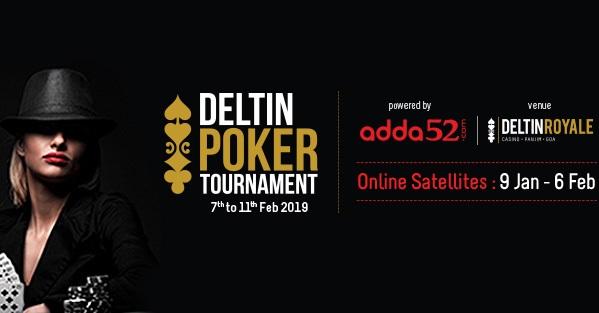 Feb 2019 Deltin Poker Tournament begins tomorrow!