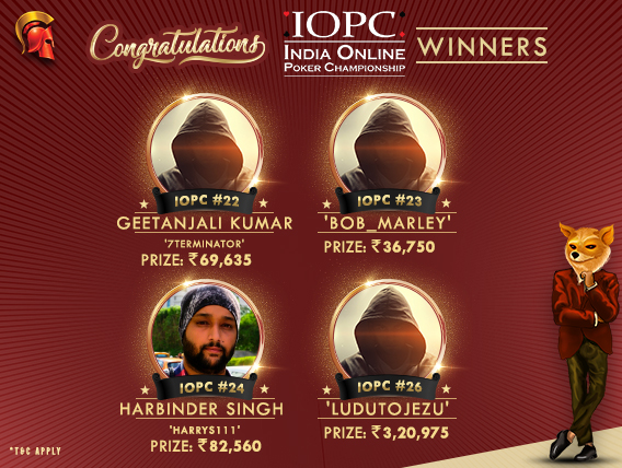 Female player among winners on IOPC Day 5