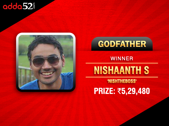 First Destiny, now Godfather for Nishaanth S