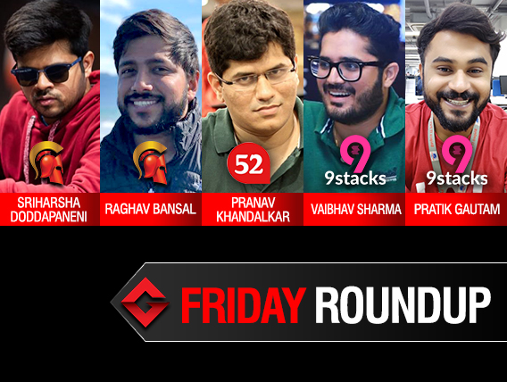 Friday Roundup: Sriharsha D leads Day 1A of Millionaire Legends